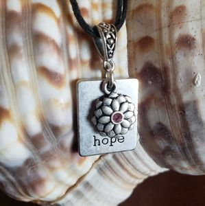 Hope Necklace Premier Jewelry Sterling Plated